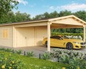 Double garage and carport 44